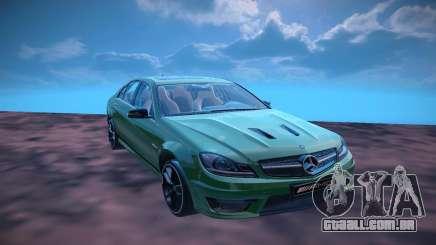 Mercedes Benz AMG C63 Edition 507 para GTA San Andreas