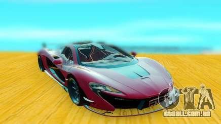 McLaren P1 GSC para GTA San Andreas