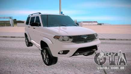 UAZ Patriota branco para GTA San Andreas