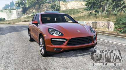 Porsche Cayenne Turbo (958) 2012 [replace] para GTA 5