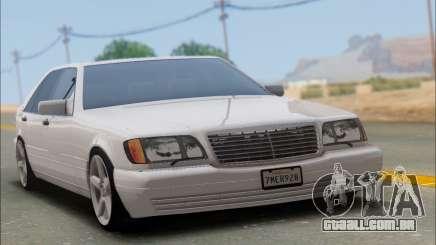 Mercedes-Benz W140 S600 TUNING para GTA San Andreas