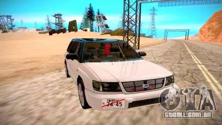 Subaru Forester para GTA San Andreas
