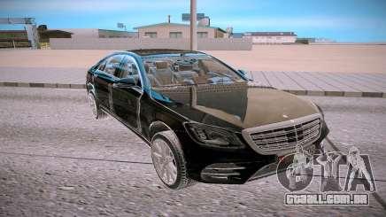 Mercedes Benz S560 W222 4matic para GTA San Andreas