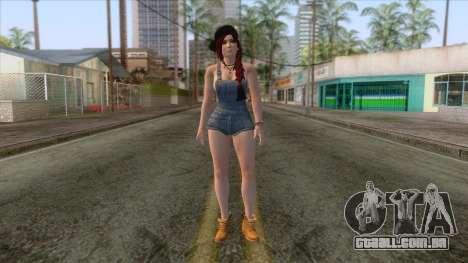 Swag Girl Skin v2 para GTA San Andreas