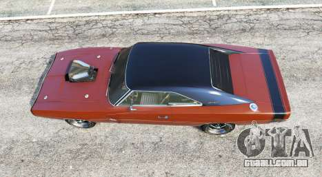 GTA 5 Dodge Charger RT (XS29) 1970 v4.0 [replace] voltar vista
