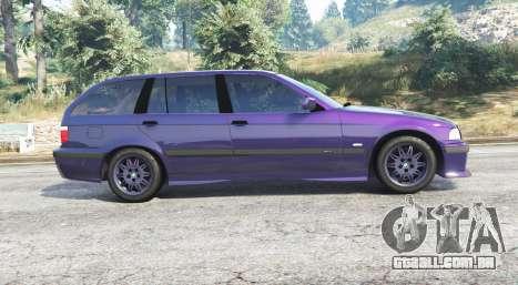 GTA 5 BMW M3 (E36) Touring v2.0 [replace] vista lateral esquerda