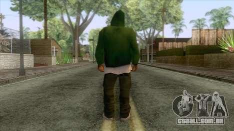 New Groove Street Skin 5 para GTA San Andreas
