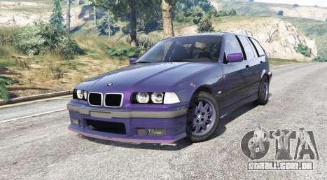 GTA 5 BMW M3 (E36) Touring v2.0 [replace] vista lateral direita