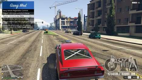Gang and Turf Mod 1.3.9 para GTA 5