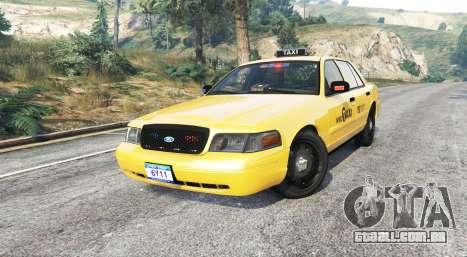 GTA 5 Ford Crown Victoria Undercover Police [replace] vista lateral direita