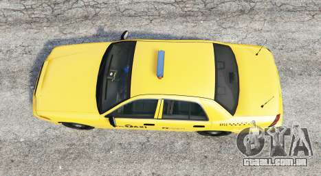 GTA 5 Ford Crown Victoria Undercover Police [replace] voltar vista