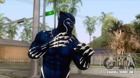 Blue Lion Skin para GTA San Andreas