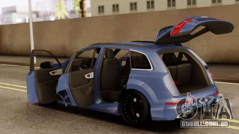 Audi SQ7 para GTA San Andreas vista direita