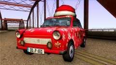 Trabant 601 Christmas Edition para GTA San Andreas