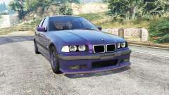 BMW M3 (E36) Touring v2.0 [replace] para GTA 5