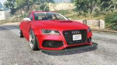 Audi RS 7 Sportback X-UK v1.1 [replace] para GTA 5