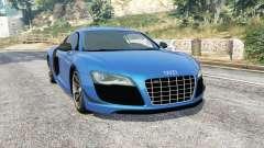 Audi R8 GT 2011 v1.05 para GTA 5