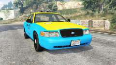 Ford Crown Victoria 2008 Taxi v1.2b [replace] para GTA 5