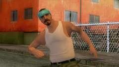 New Varios Los Aztecas Skin 3 para GTA San Andreas
