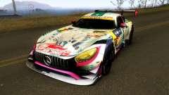 Mercedes Benz AMG GT3 Goodsmile Racing 2018