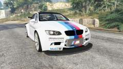 BMW M3 (E92) WideBody BMW Driving v1.2 [replace] para GTA 5