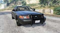 Ford Crown Victoria FBI v3.0 [replace] para GTA 5
