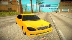 Mercedes-Benz S600 W222 para GTA San Andreas