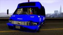 Microbus Chevrolet (SITP De Bogota) para GTA San Andreas