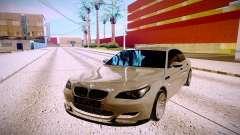 BMW M5 E60 prata para GTA San Andreas