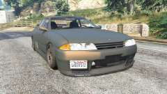 Nissan Skyline GT-R (BNR32) v0.5 [replace] para GTA 5
