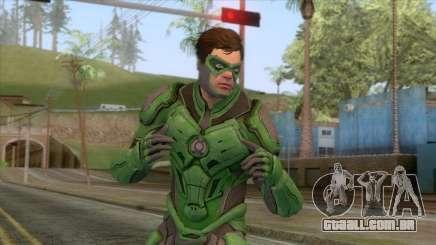 Injustice 2 - Green Lantern Elite Skin para GTA San Andreas