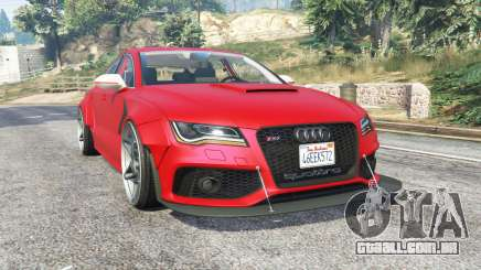 Audi RS 7 Sportback X-UK v1.1 [replace] para GTA 5