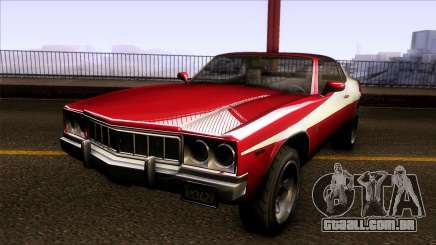 GTA V Declasse Sabre GT3 Starsky & Hutch para GTA San Andreas