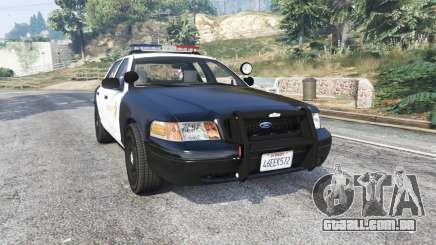 Ford Crown Victoria LSSD [ELS] [replace] para GTA 5