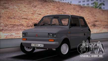 Fiat 126 Stock para GTA San Andreas