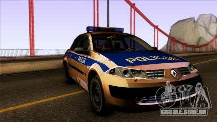 Renault Polskiej Policji para GTA San Andreas