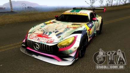 Mercedes Benz AMG GT3 Goodsmile Racing 2018 para GTA San Andreas