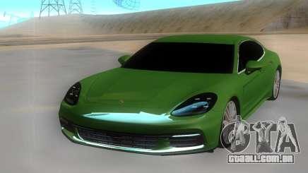 Porsche Panamera 4s para GTA San Andreas