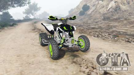 Yamaha YFZ450 Monster Energy v1.1 [replace] para GTA 5