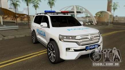 Toyota Land Cruiser 200 Interventna Jedinica 92 para GTA San Andreas