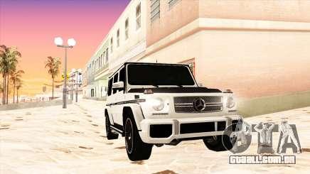 Mercedes-Benz G65 AMG 2013 IVF para GTA San Andreas