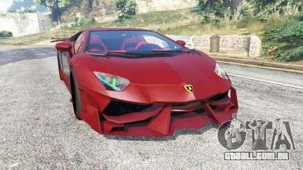 Lamborghini Aventador LP988-4 v3.1 [replace] para GTA 5