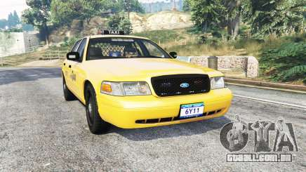 Ford Crown Victoria Undercover Police [replace] para GTA 5