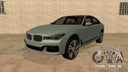 BMW 750d para GTA San Andreas