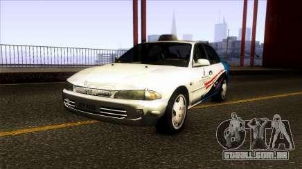Proton Wira Terengganu City Taxi para GTA San Andreas