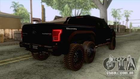 Ford F150 Hennessey Velociraptor para GTA San Andreas