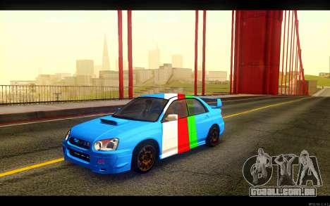 Subaru Impreza WRX STi 2004 Clean para GTA San Andreas