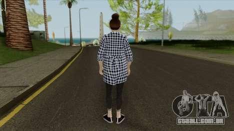 Mai Shiranui Korean Style v3 para GTA San Andreas terceira tela