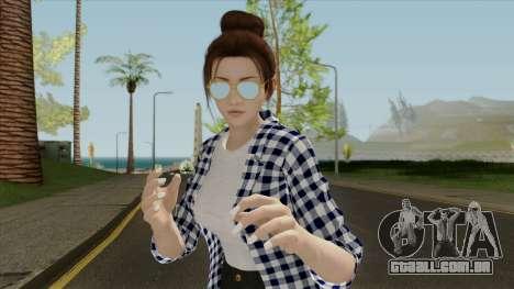 Mai Shiranui Korean Style v3 para GTA San Andreas
