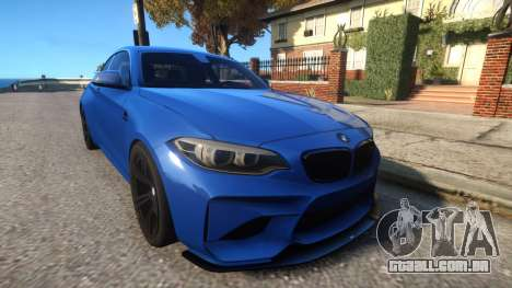 BMW M2 Coupe by AC Schnitzer para GTA 4
